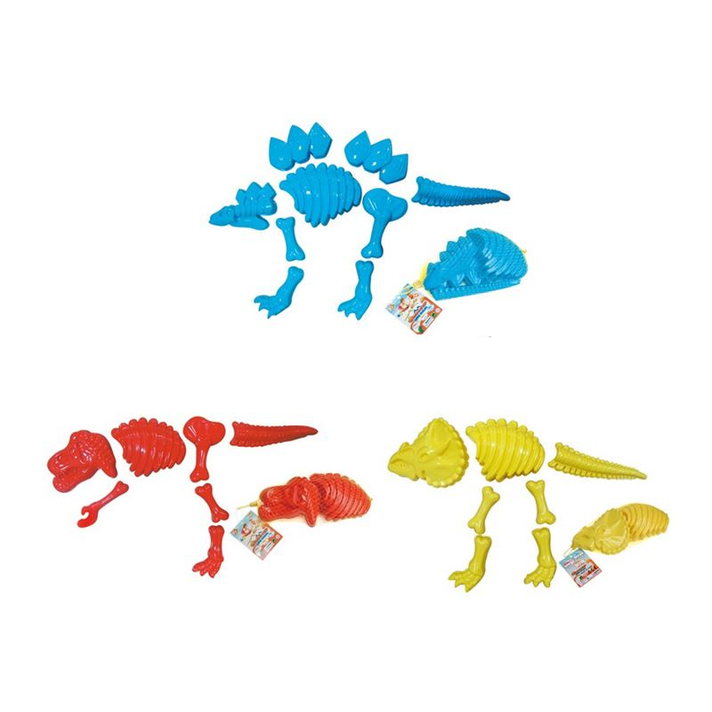 Beach set_Dinosaur moulds small size