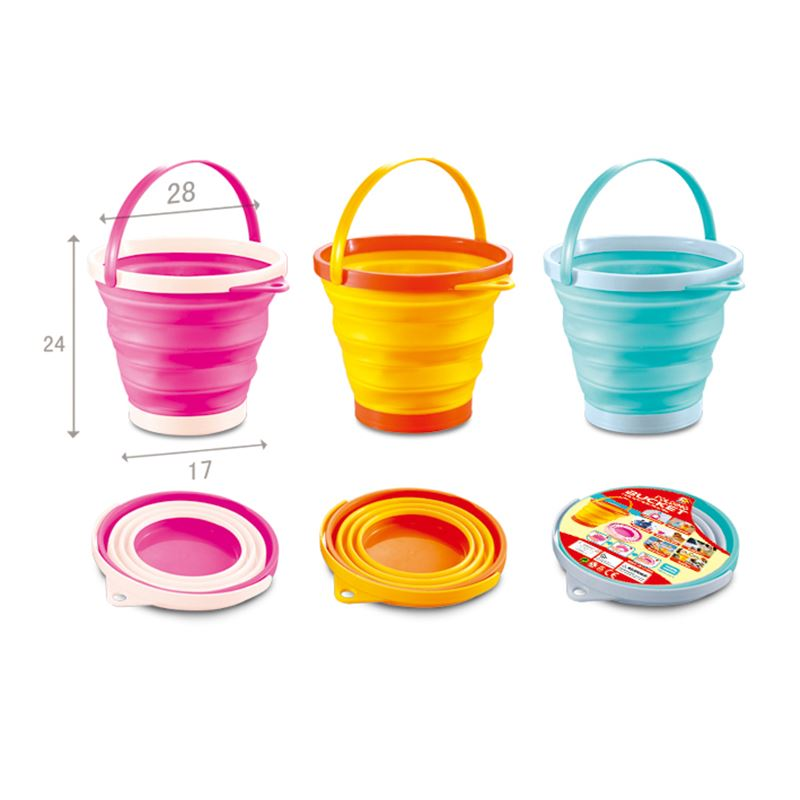 Beach set_foldable bucket_round