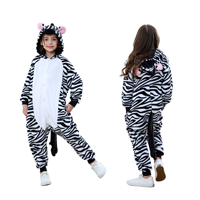 Animal Onesie kids Zebra