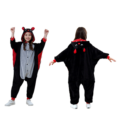 Animal Onesie kids bat