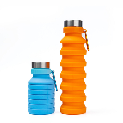 Collapsible bottle and cup