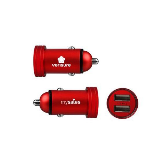 Aluminum alloy car charger