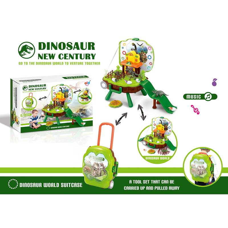 Pretend play toys_Suitcase dinosuar TAN1139