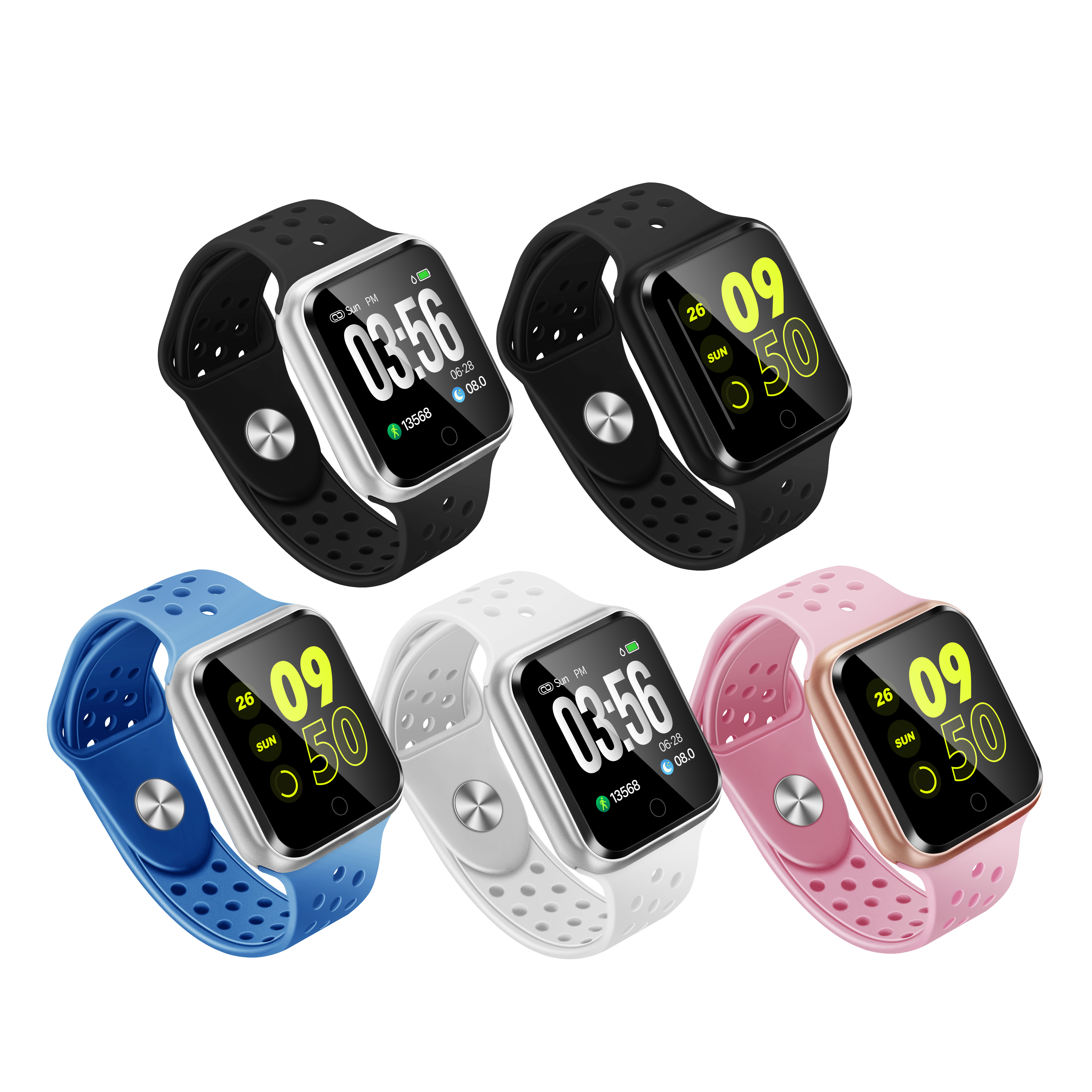 Bluetooth smart watch IP67 waterproof Sports Tracker
