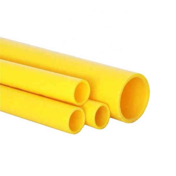 ISO 4437 Standard Series PE Gas Pipe yellow gas pipe