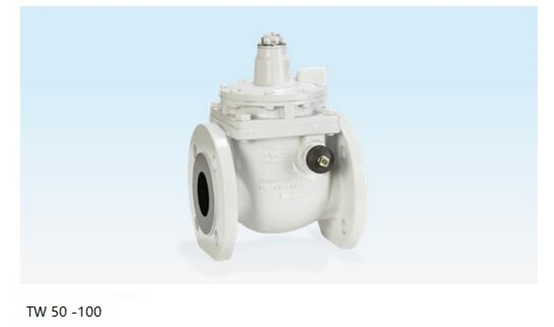 Valve 50 - 100 For positive pressure with over-pressure shut-off